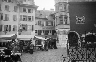 Market at Place du Ring in Biel, Switzerland | by Swedish National Heritage Board
