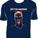 Manning on shirt
