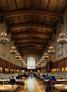 University of Michigan ~ Law Reference Room  ~ Ann Arbor, Michigan | by Trish P. - K1000 Gal