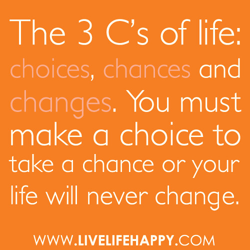 the guidelines for choice decision making
