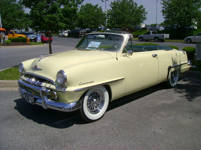 1953 Plymouth Cranbrook Convertible Chrysler Product