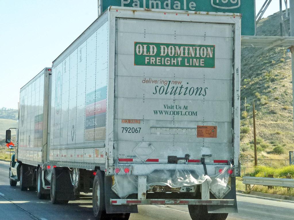 Old Dominion Freight Line Truck | David Valenzuela | Flickr