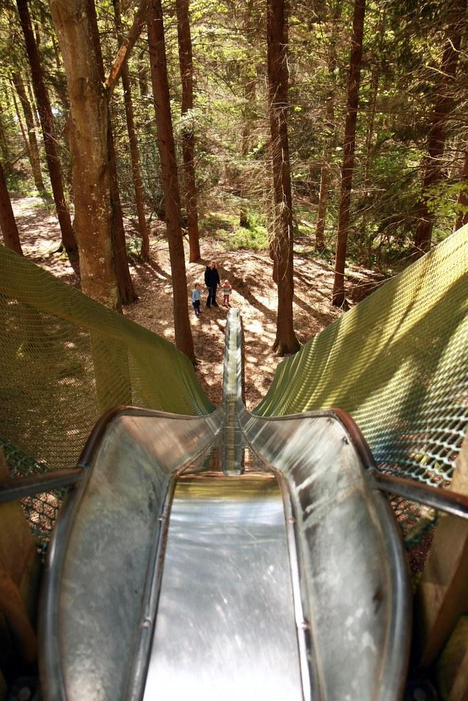 Longest slide in the world 1 bowmore house forest and Longest house in the world