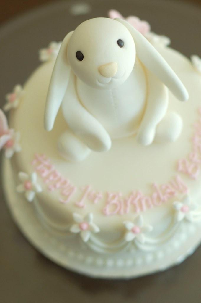 Birthday Cake Rabbit Images : Bunny Birthday cake - Bunny closeup CharmChang Flickr