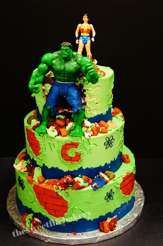 Marvel Comics Cake Pan