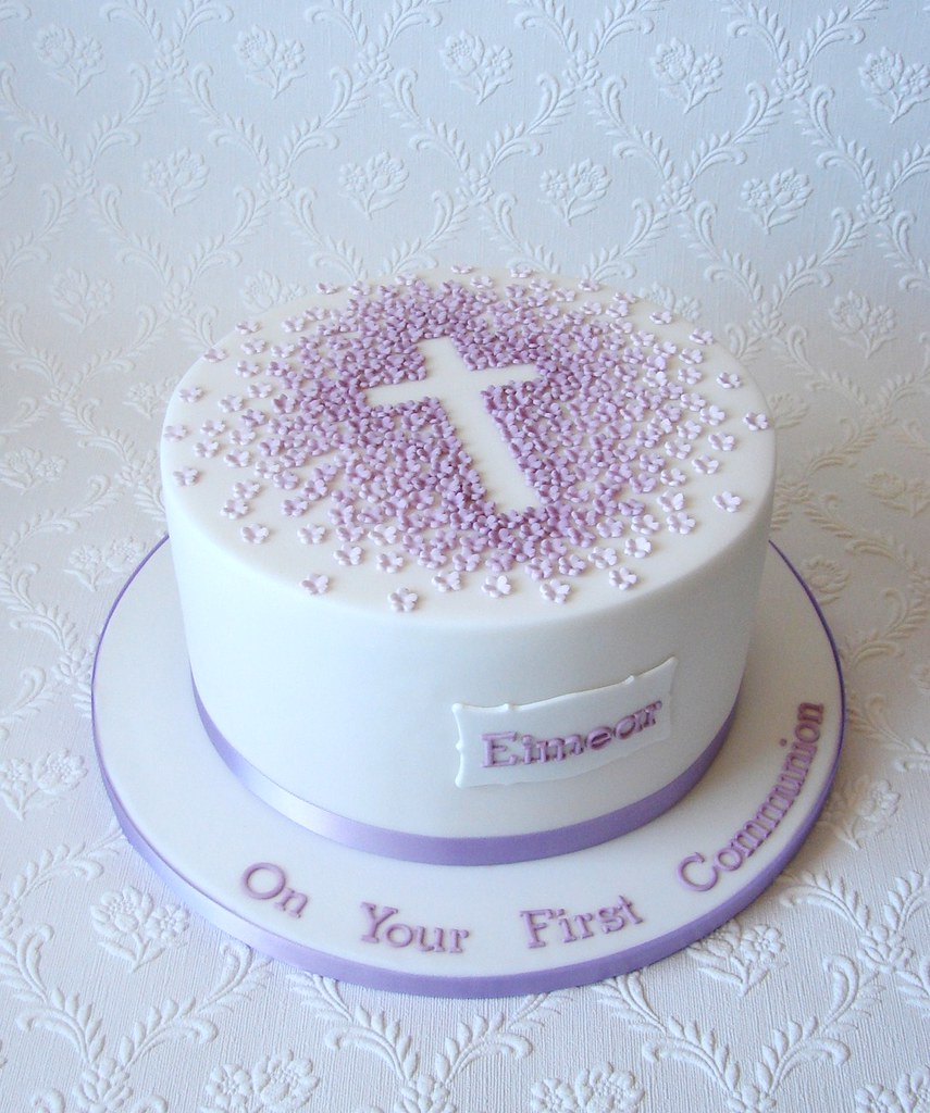 First Communion Cake Images : First Communion Cake for Eimear Repeat design of a First ...