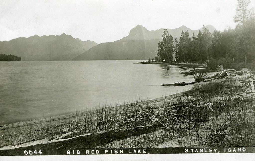 Idaho c 0010 big red fish lake image title big red for Big fish lake