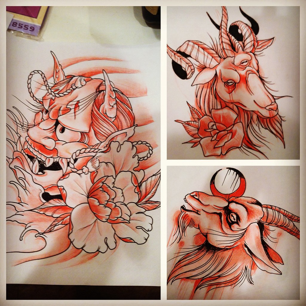 Red Riding Hood Tattoo Designs