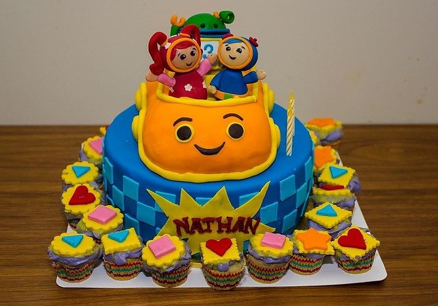 Team Umizoomi Birthday Cake Topper Edible Picture Image Flickr