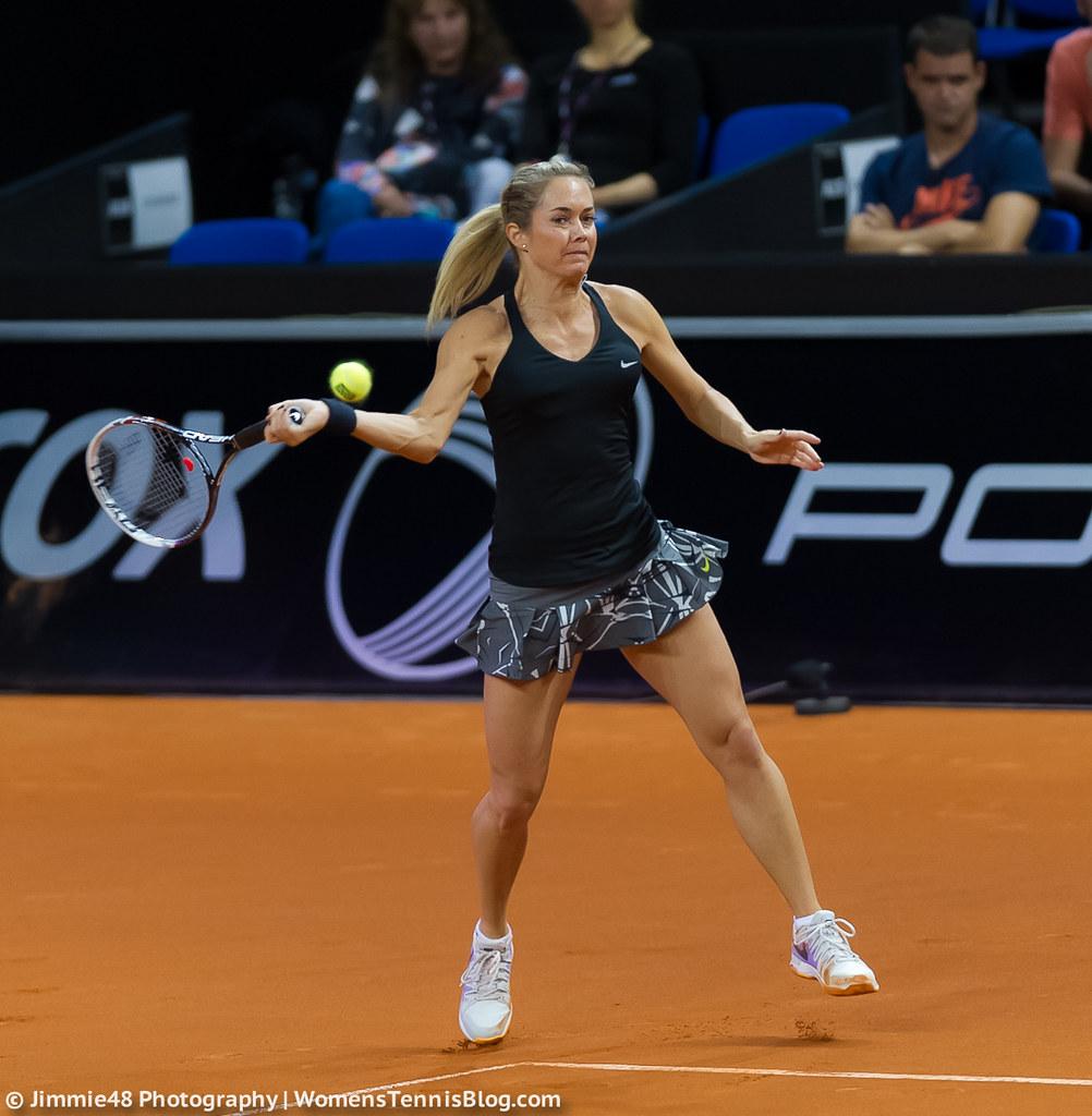 Klara Koukalova Porsche Tennis Grand Prix 2014 Wta