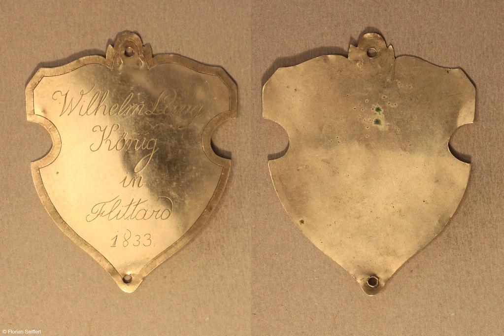 Koenigsschild Flittard von lang wilhelm aus dem Jahr 1833