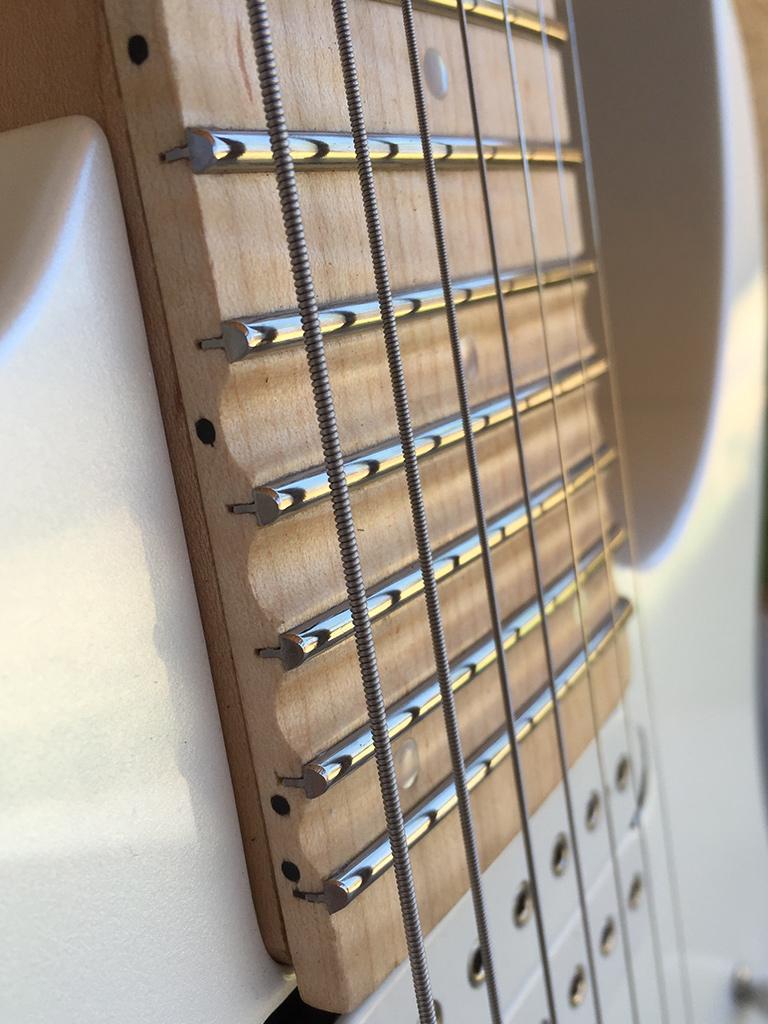 Guitar Customizing Gallery Ultimate Wiring A Gfs Humbucker Need Detailed Instruction Harmony Dimarzio Illuminator Bridge And Ionizer Neck