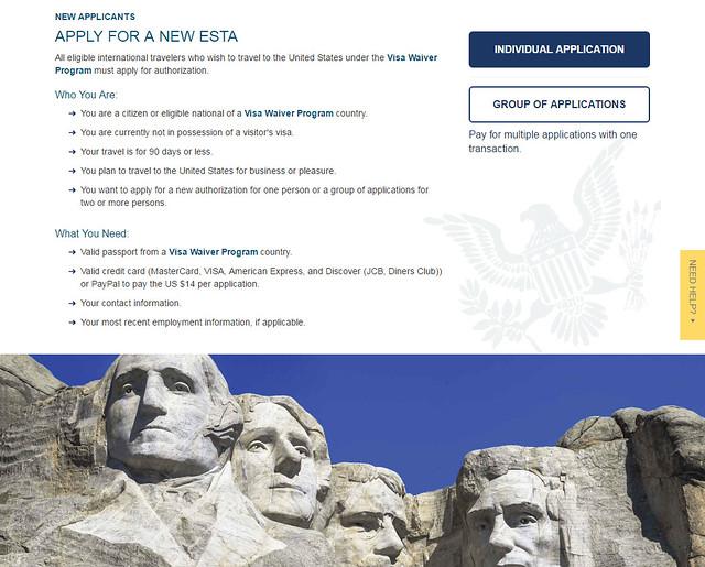 Segundo paso que hay que hacer para obtener el certificado ESTA