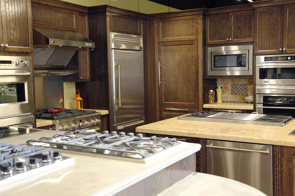 Ge monogram appliance display in paramus nj showroom flickr for Kitchen showrooms nj
