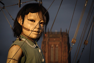 Sea Odyssey - Little Girl Giant, Liverpool | by Donald Wheresmetroosers
