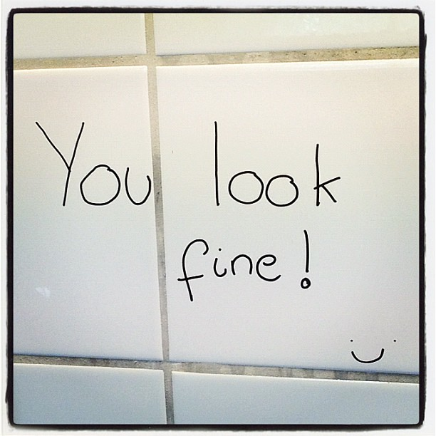 Best bathroom mirror ever you look fine looks word for Mirror that look