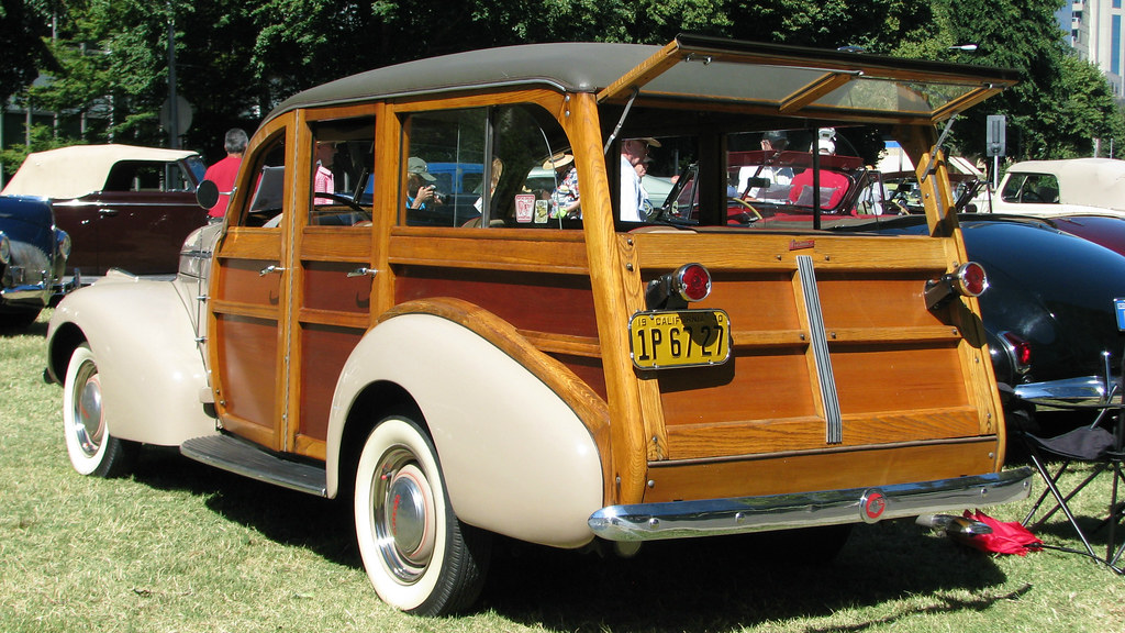 Concours D Elegance >> 1940 Pontiac Special Six woodie Wagon 2 | Photographed at ...