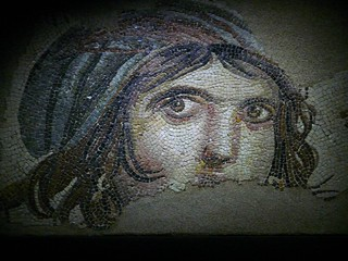 gaziantep mosaic museum - gipsy girl.... | by peterpeers