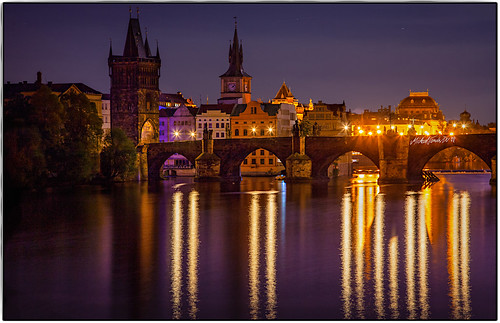 Prague-Karlsbruecke @ Night | by MichaelSanderDU