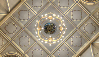 Connaught Hall Ceiling Detail | by Mark Wheadon