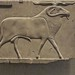 Relief plaque depicting a Ram as either Amun or Banebdjeder ram god of the northern city of Mendes Egypt Ptolemaic Period 300 BCE Limestone