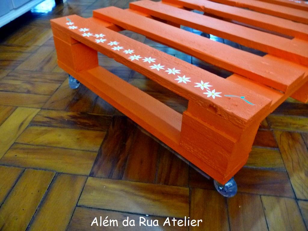 Mesa de centro feita com pallet fiz uma mesa de centro - Mesa centro palet ...