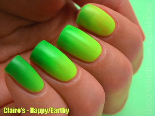 Claire's - Happy/Earthy | by Lacky Nails
