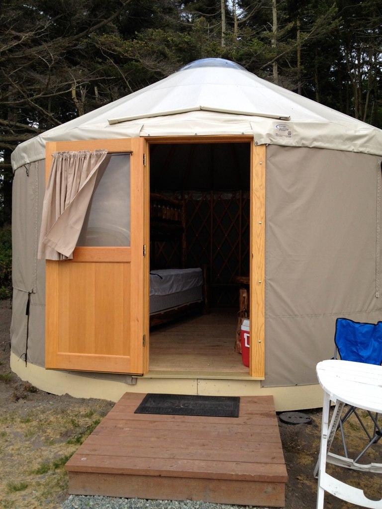 yurt at cliffside rv park z zrp flickr