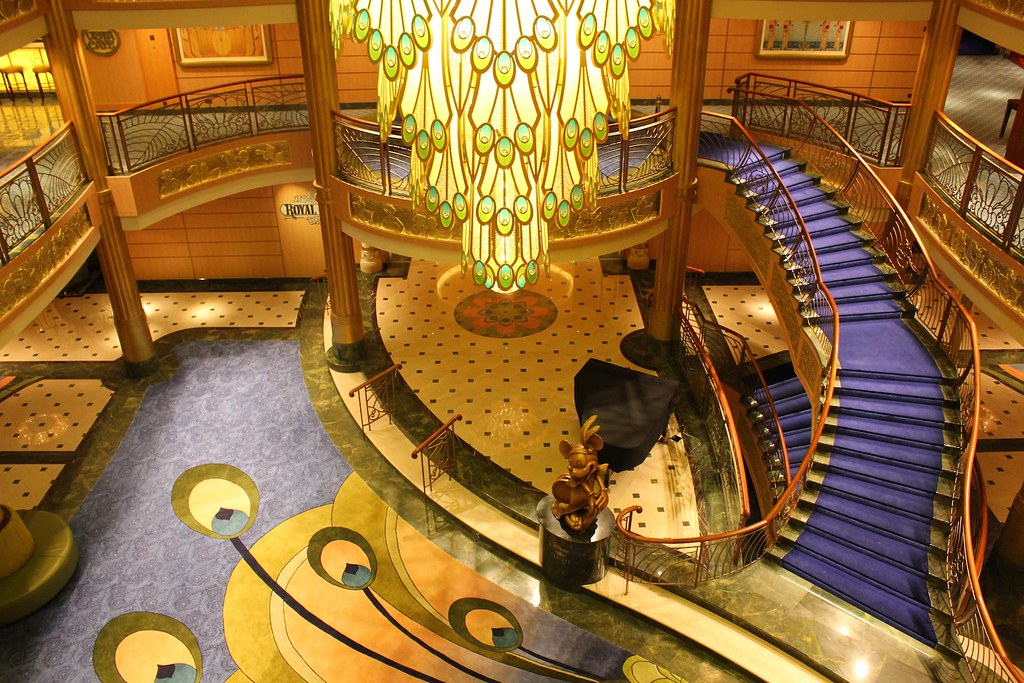 Disney Cruise Atrium Disney Fantasy Atrium | by
