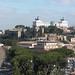 Vue sur le Vitoriano depuis la colline de l'Aventin