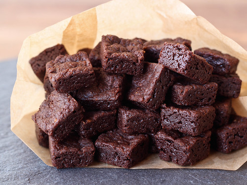 Bite size brownies | by Ashlae | oh, ladycakes