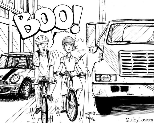Too Close for Comfort | by bikeyface