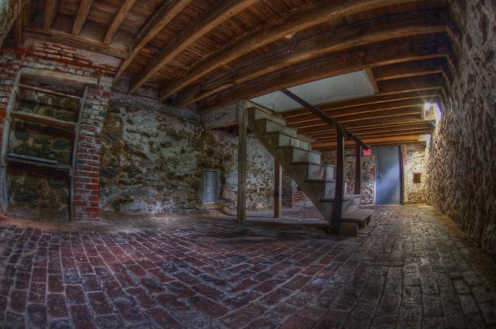 Edgar Allan Poe House Cellar This Is The Cellar Of The