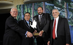 NWF Honors Confederated Salish & Kootenai Tribes with 2012 Connie Award