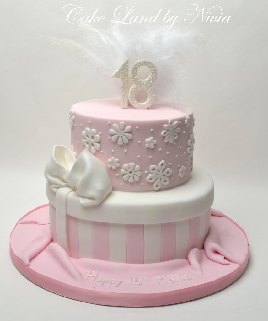 Cake Design 18th Birthday Girl : 18th birthday cake CakeLand by Nivia Flickr