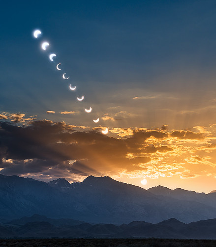 Annular Eclipse over the Sierra | by M-Kuhns