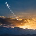 Annular Eclipse over the Sierra