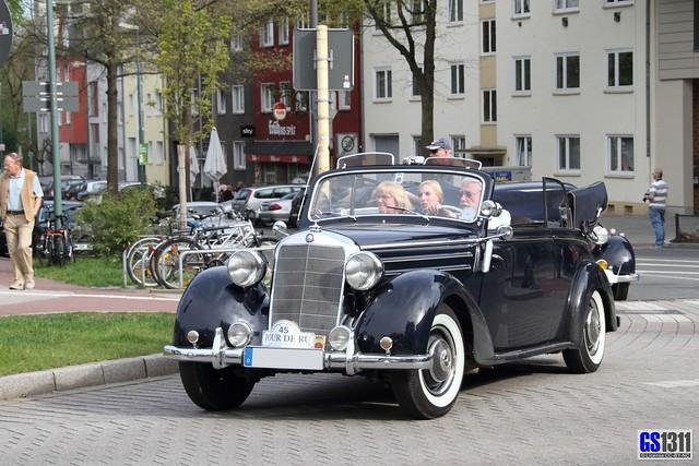 1949 1952 mercedes benz 170 s cabriolet b the mercedes for 1949 mercedes benz