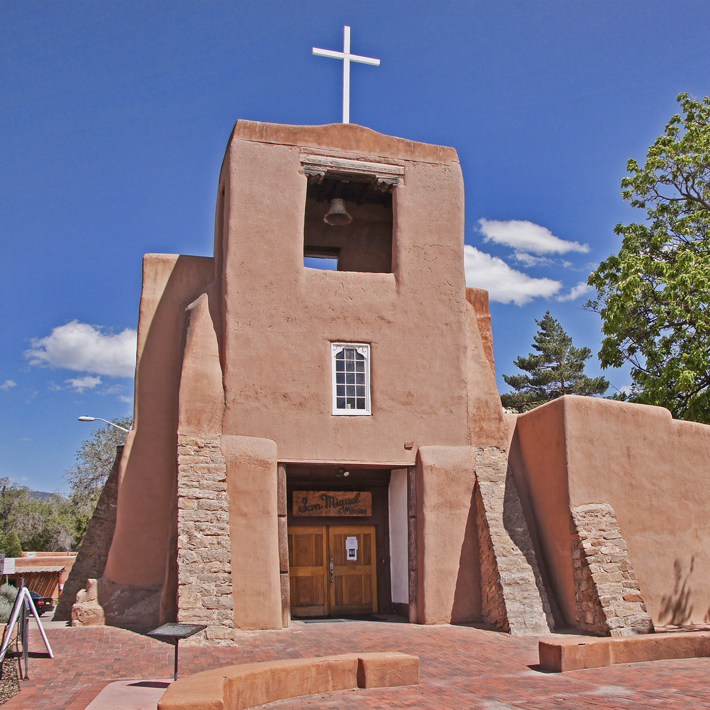 San Miguel Mission Santa Fe Nm: San Miguel Mission In Santa Fe, NM