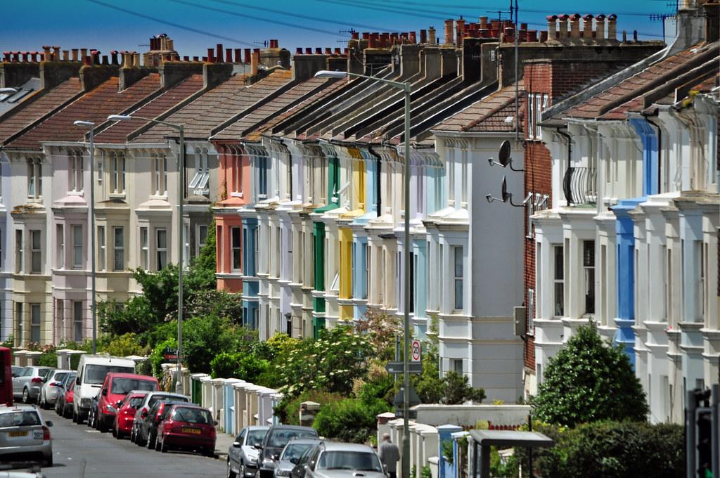 Terraced houses brighton benicektoo flickr for Brighton house