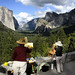 Plein air artists in Yosemite National Park