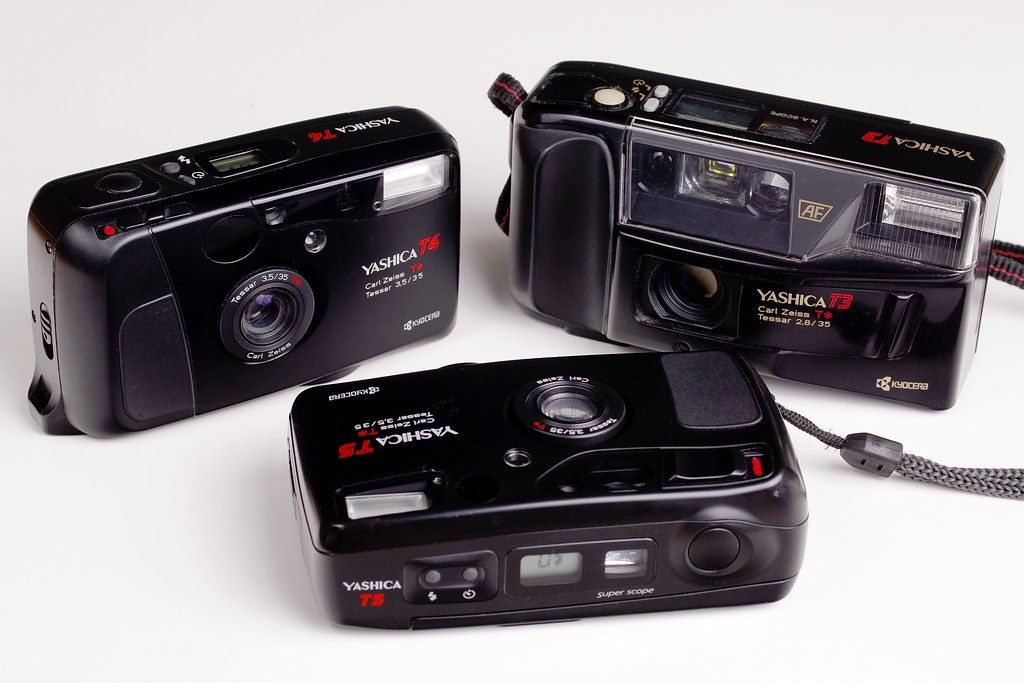 yashica t3 t4 and t5 in 1985 the japanese company. Black Bedroom Furniture Sets. Home Design Ideas