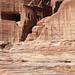 Mar 12 - Nabataean tombs above the roman-era theatre, Petra