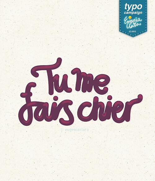 illustrator ideas and photo - Tu Me Fais Chier
