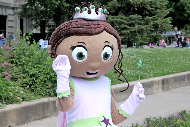 Princess Presto From Super Why!