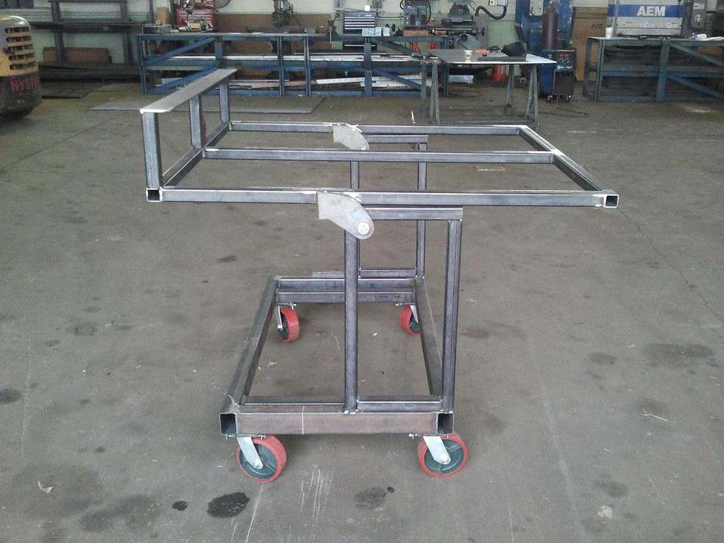Tilting Cart With Wheels Www Kgequipment Com Fabrication