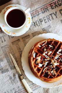 Coconut Waffles | by pastryaffair