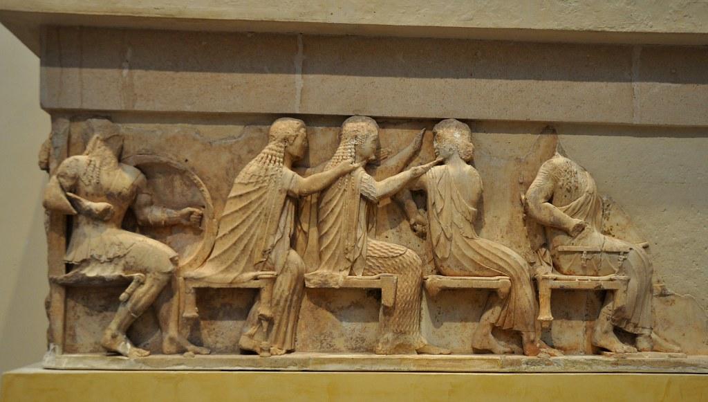 Ares, Aphrodite, Artemis, Apollo and Zeus, Siphnian treasu ...