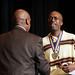 Keion Clinton receiving SUNY Chancellor's Award for Excellence in Teaching