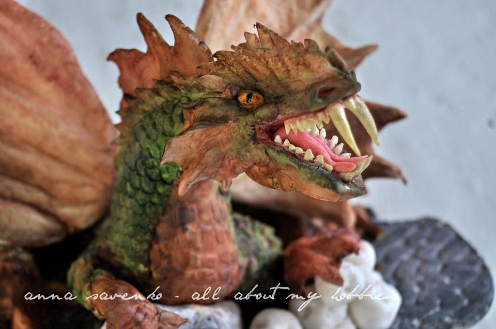 Fondant Dragon Anna Savenko Flickr
